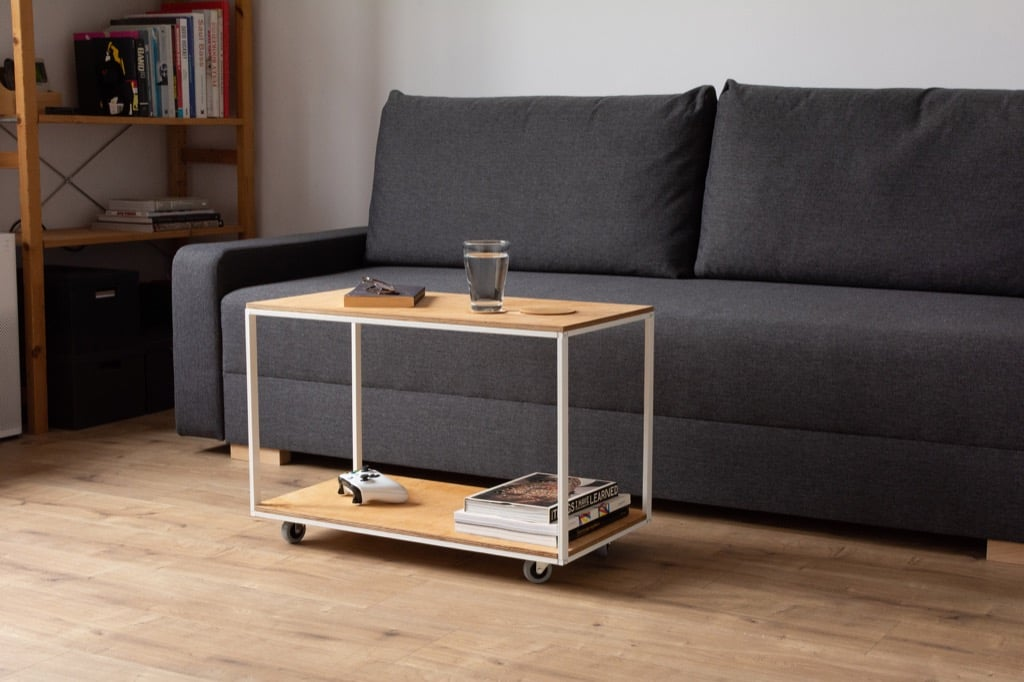 antonius floating coffee table