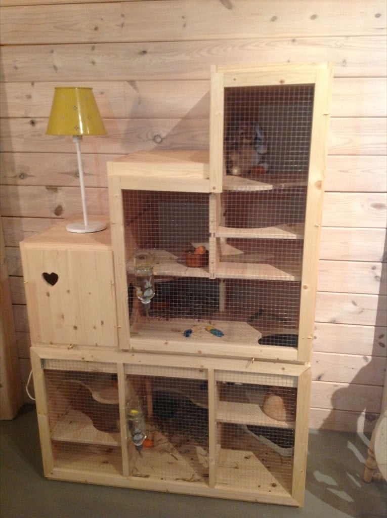 rabbit hutch - step unit