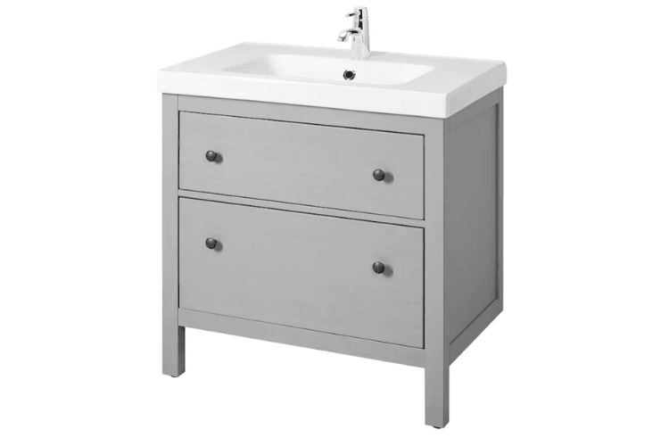 HEMNES ODENSVIK sink vanity