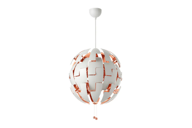 IKEA PS 2014 lamp, white-copper