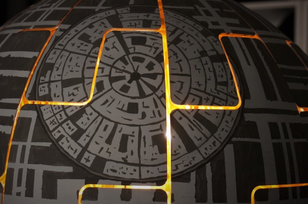 Death star lamp hack