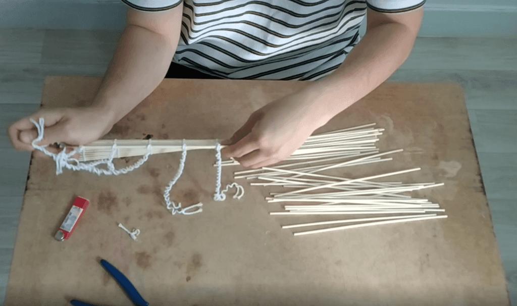 untie strings