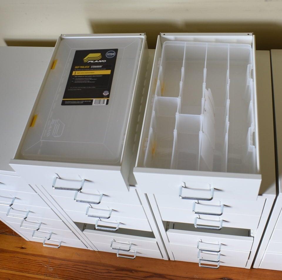 organise IKEA HELMER drawers