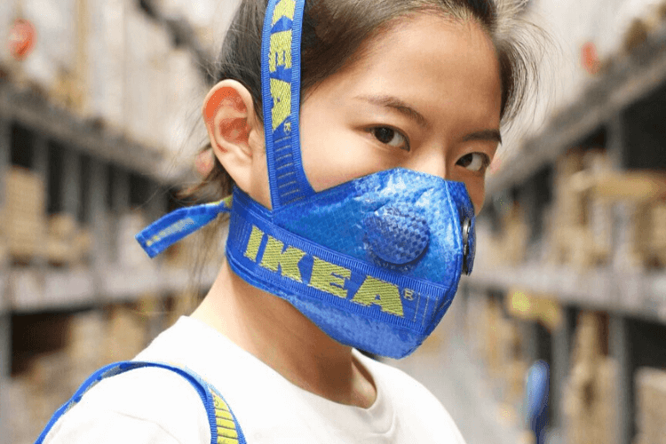 ikea diy face mask