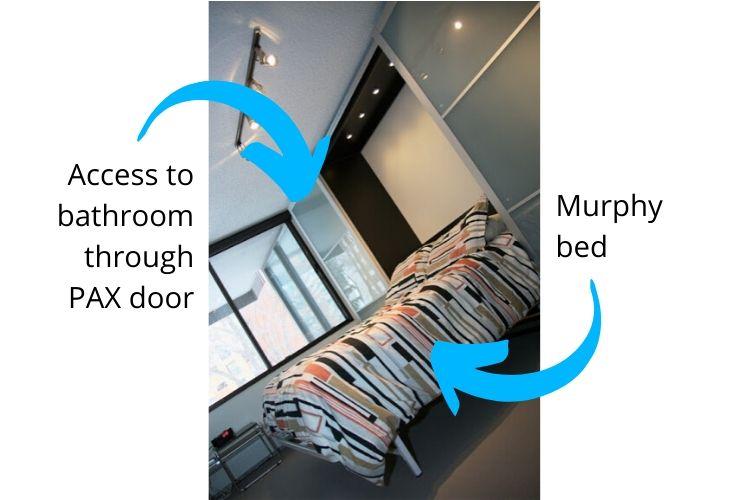 Pax Murphy bed