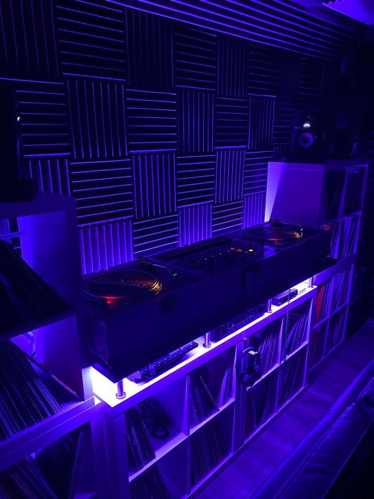 An IKEA DJ Booth