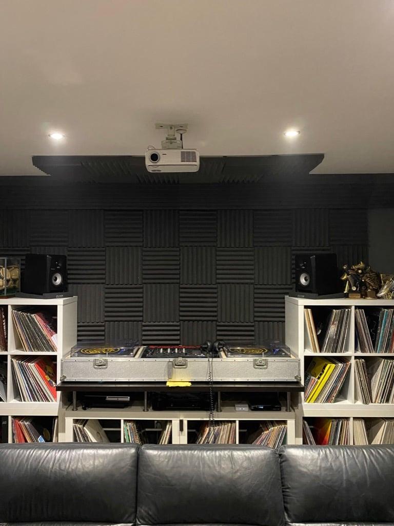 An IKEA DJ Booth