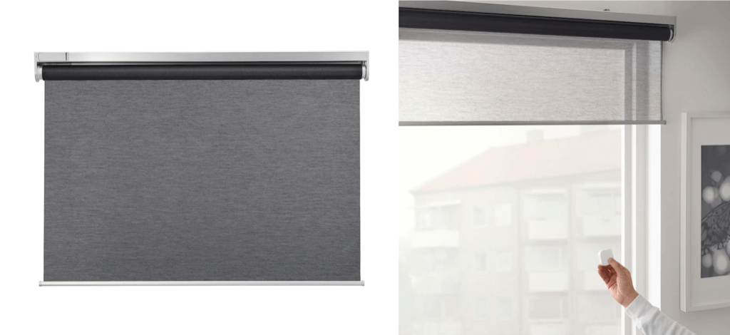 ikea kadrilj motorized blinds