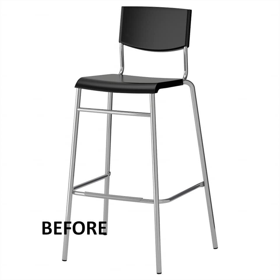 IKEA STIG bar stool