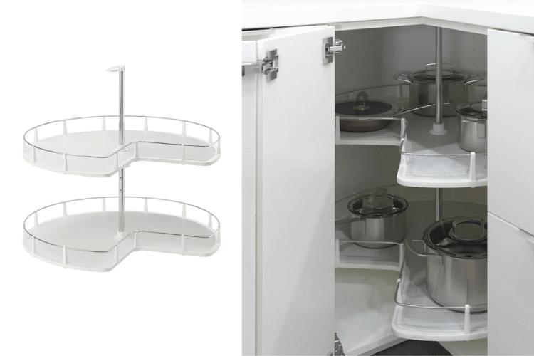corner cabinet carousel