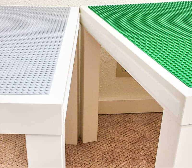 velcro to join LACK tables