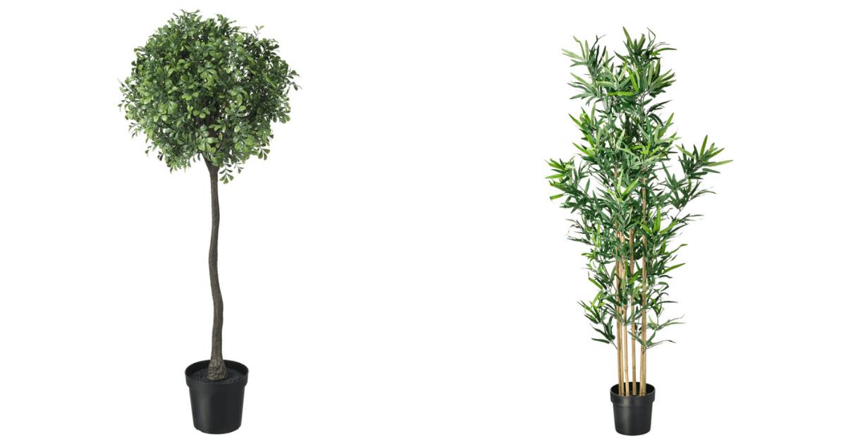 IKEA Faux Plants