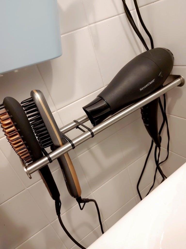 hair tools holder ikea