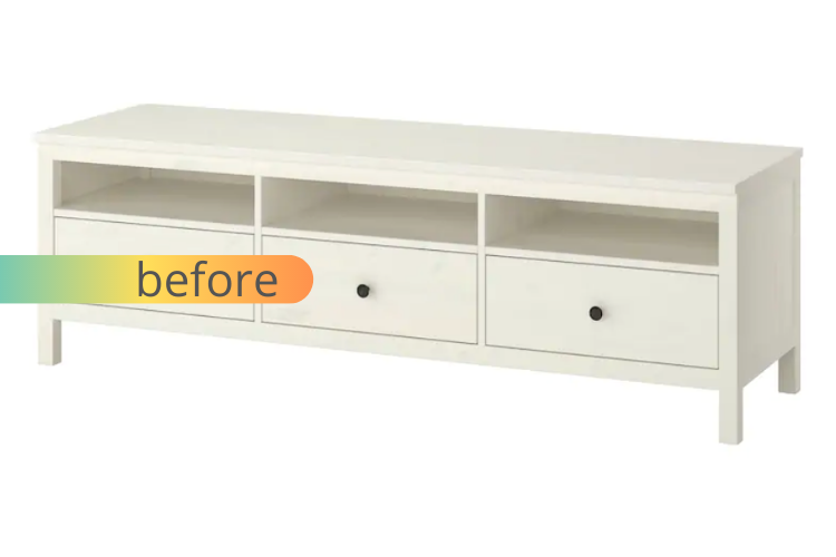 hemnes mcm media console before