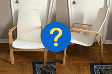 ikea highback armchair