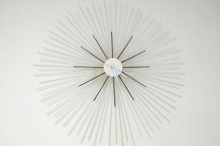 ikea diy wall clock