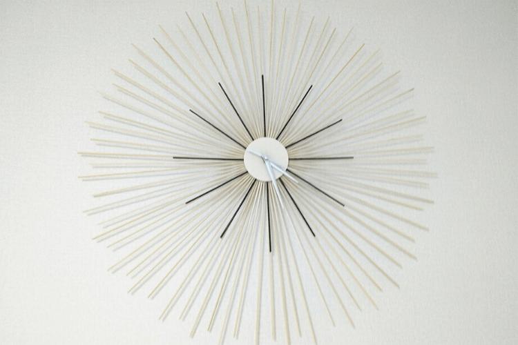 ikea diy wall clock