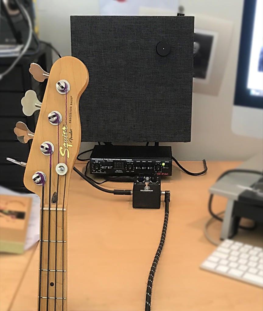 ikea eneby desktop tiny bass rig