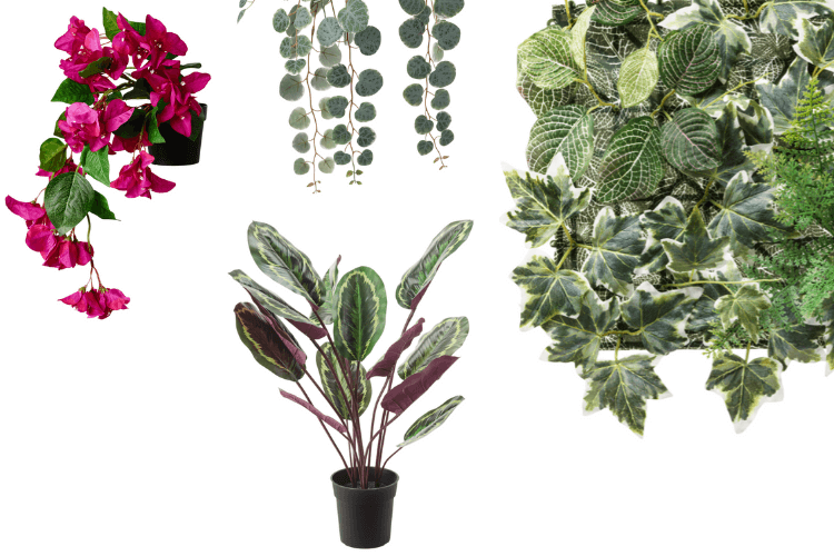 ikea fejka faux plants