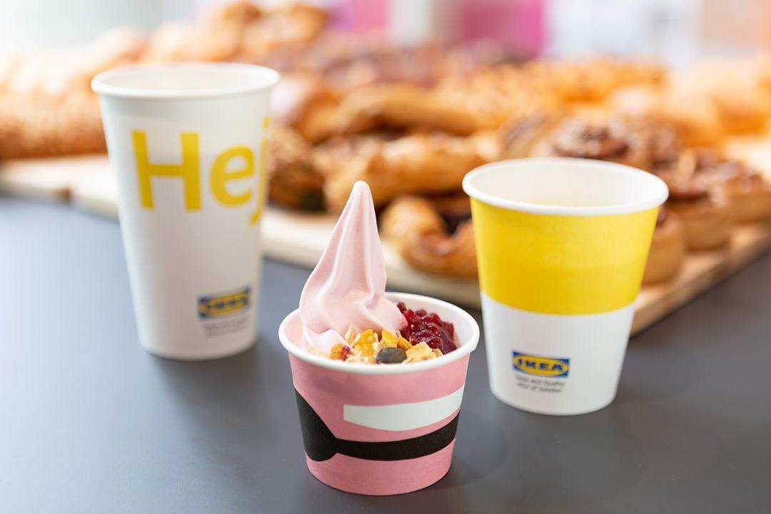 IKEA Plant based sundae