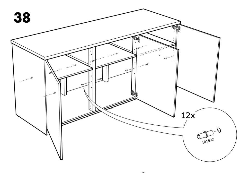 IKEA KNOXHULT modular kitchen