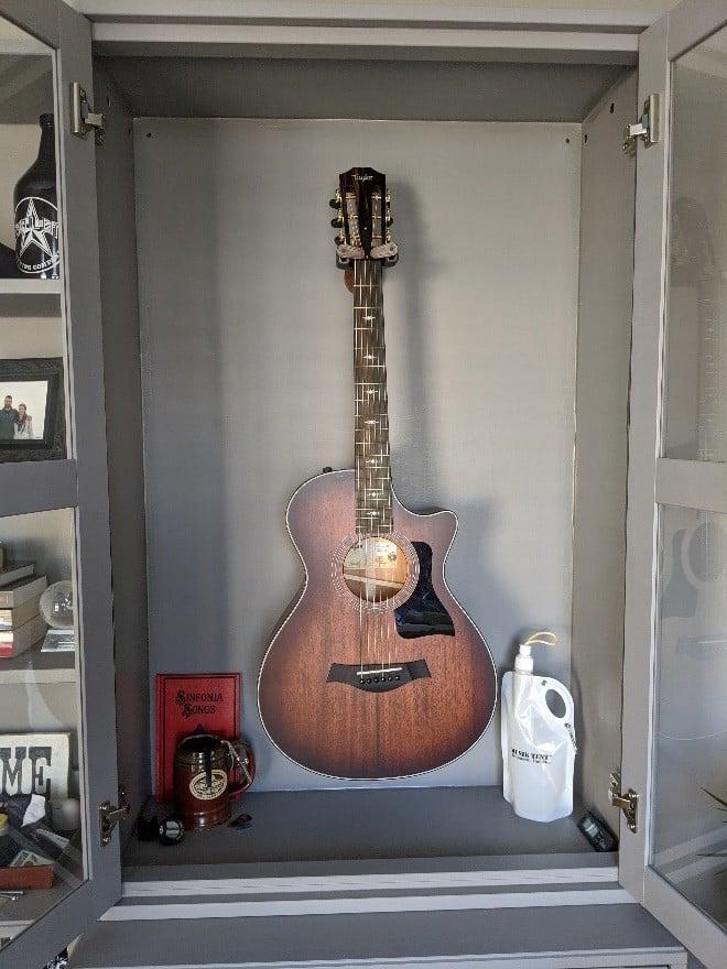 Guitar Humidor cabinet IKEA Hack