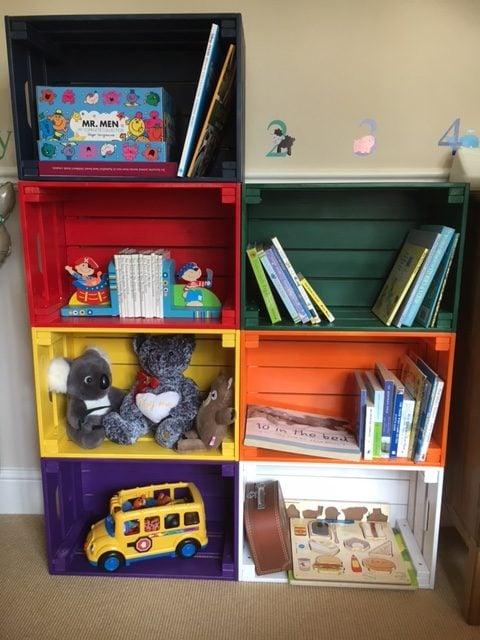 IKEA KNAGGLIG box for kids room storage