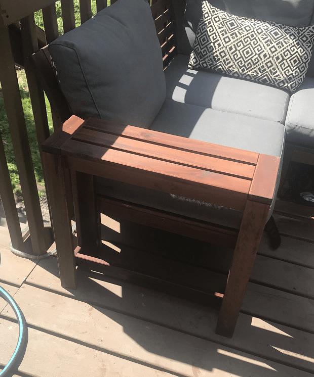 ÄPPLARÖ sofa gets new arms