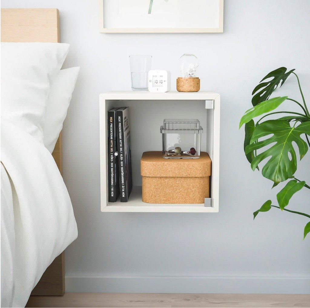 EKET cube nightstand