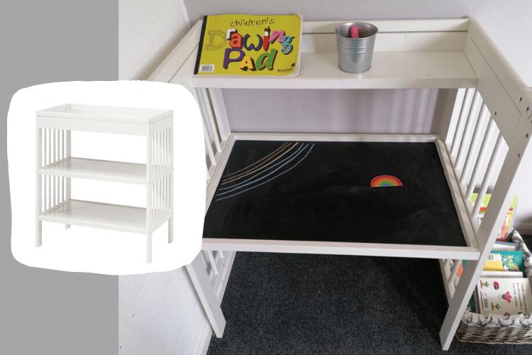 gulliver kids' art desk hack