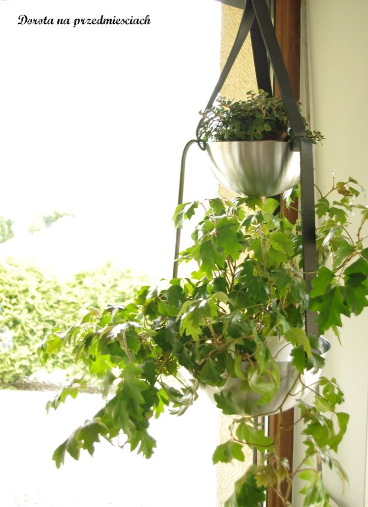 IKEA BLANDA BLANK stainless steel bowl hanging planter
