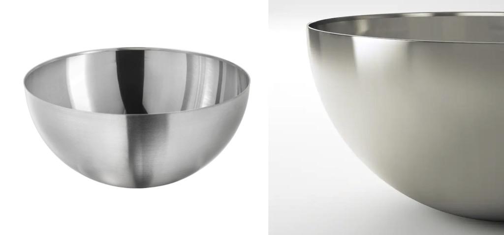 IKEA BLANDA BLANK stainless steel bowl