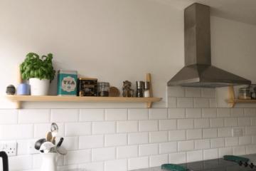 ikea kitchen shelves