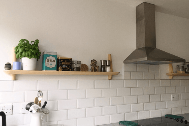 ikea kitchen shelves