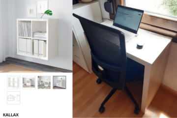 kallax desk ideas