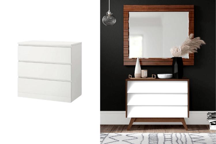 malm wayfair dresser