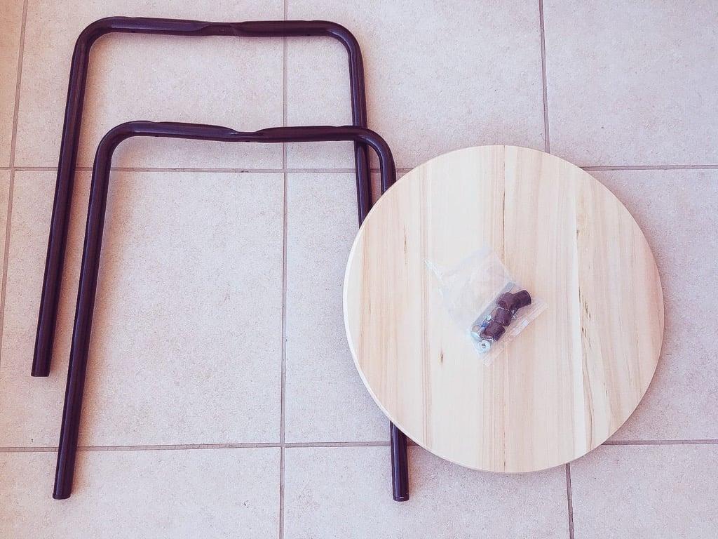 IKEA SNUDDA kitchen turntable side table
