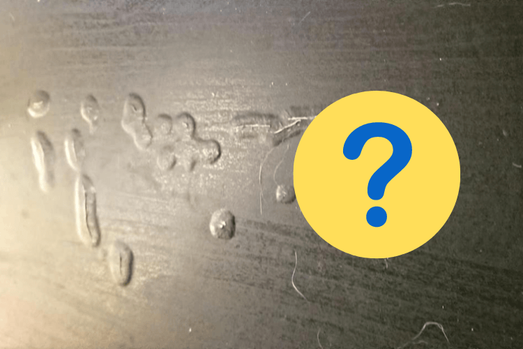 particle board water damaged