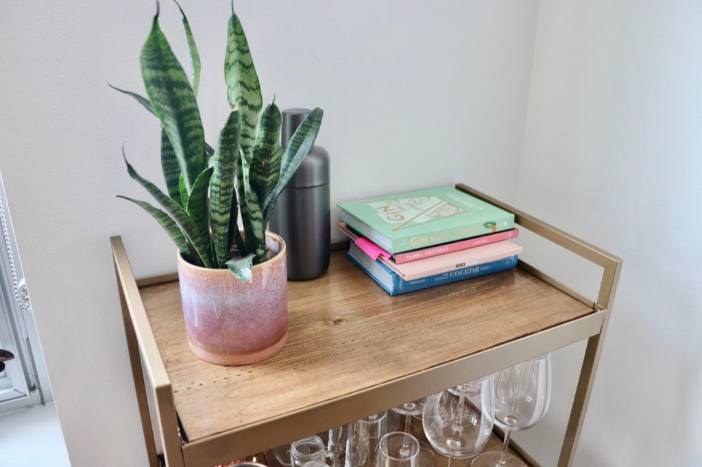 bar cart hack