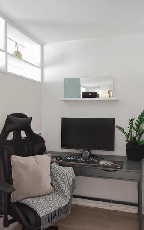 BILLY room divider home office
