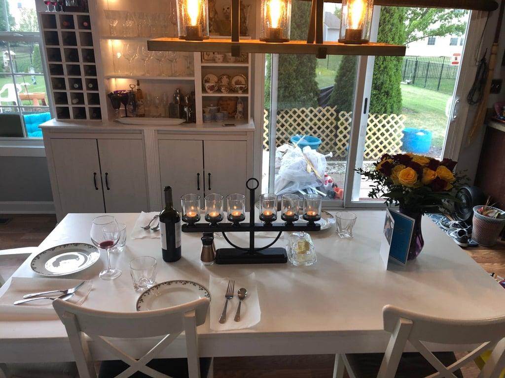 dining room bar ikea hack