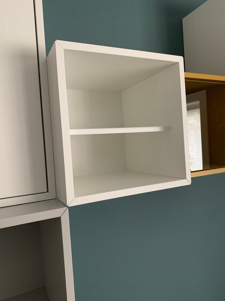 EKET shelf with insert