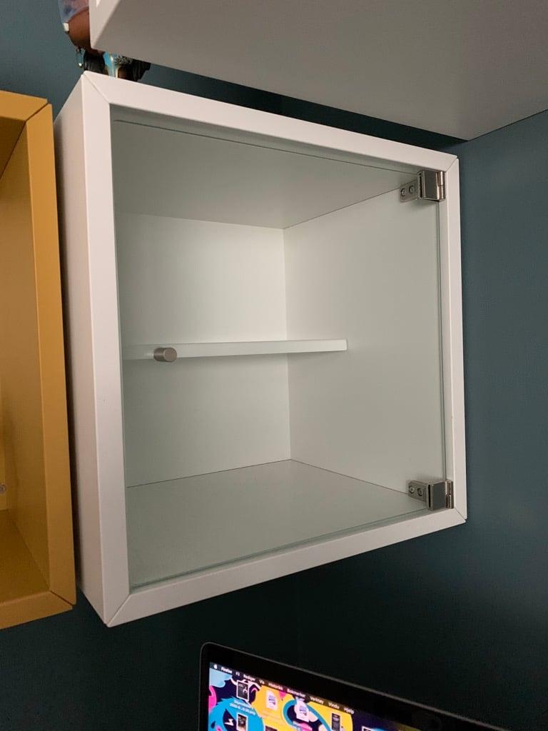 EKET shelf with insert