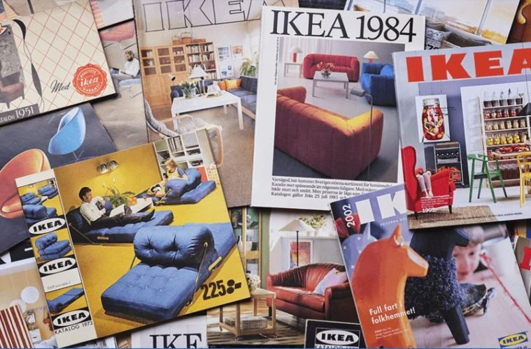 ikea catalogs through the ages