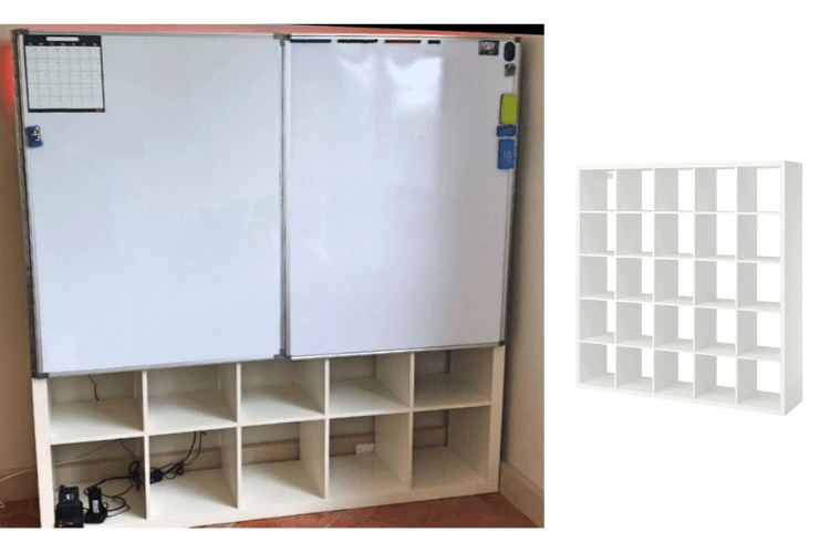 kallax whiteboard doors