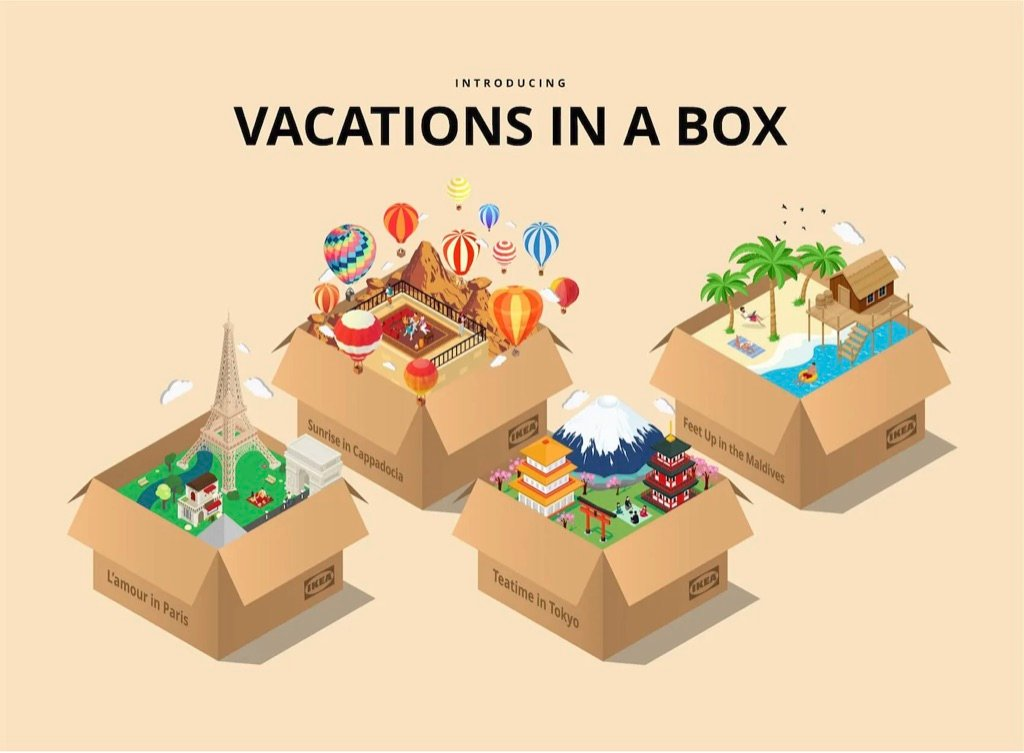 staycation idea - vacations in a box