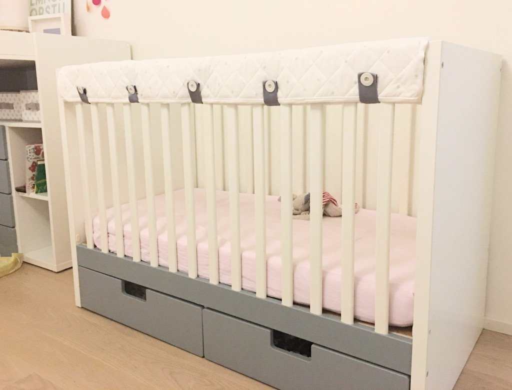 crib teething guard