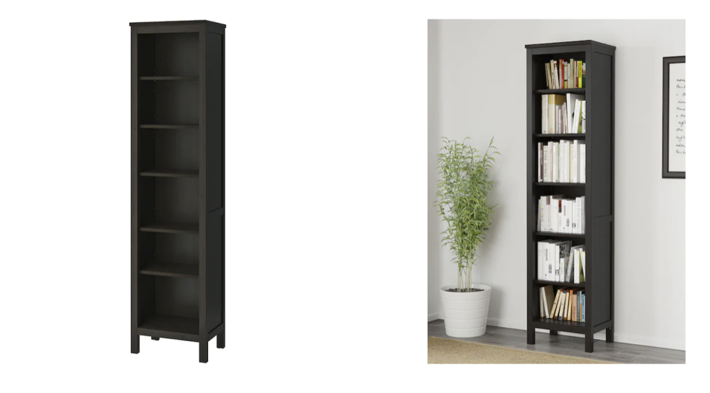 HEMNES bookcase in natural wood