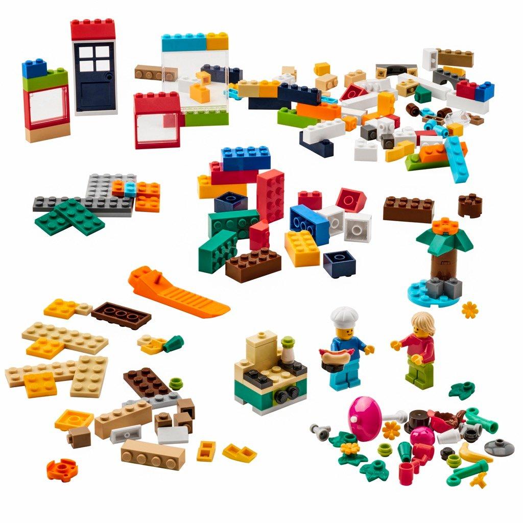 IKEA LEGO BYGGLEK play starter