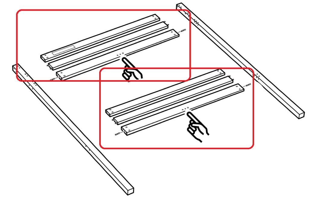 IKEA STORA double bunk bed